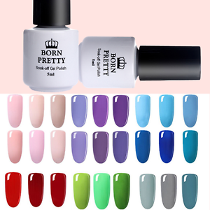 BORN-PRETTY-Nail-UV-Gel-Polish-Set-Soak-Off-Nail-Art-LED-Varnish-5ml
