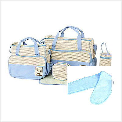 UK Mummy-Baby bag Nappy Changing Bag Shoulder Storage Handbag Diaper Mat