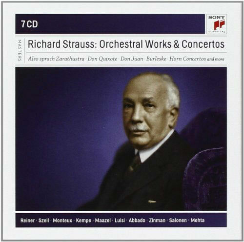 various - orchestral works and concertos, Richard Strauss (CD) 888837986328