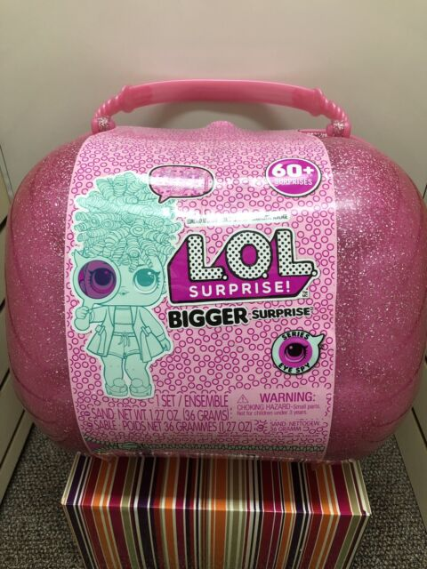 LOL Bigger Surprise Dolls Limited Edition Big Case 60 Surprises Pink Sealed NEW