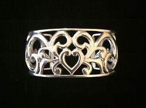 Sterling-Silver-Filigree-Heart-Cuff-Bracelet