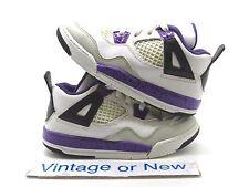 Girls Nike Air Jordan IV 4 Ultraviolet Retro TD 2012 sz 9.5C