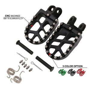 CNC-Foot-Pegs-Footpegs-Footrest-Pedals-For-Honda-CR80-XR650R-XR650L-XR600R-XR250