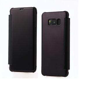 Samsung-Galaxy-S8-and-8-plus-Flip-Case-Metallic-Cover