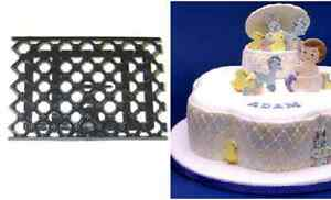Quilting Cake Decorating : Patchwork Cutters QUILTING EMBOSSER - Cake Decorating Embosser Cutter eBay