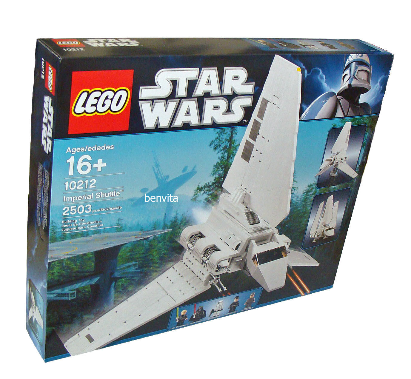 LEGO ® Star Wars 10212-Imperial Shuttle 2503 parti 16+ - NUOVO