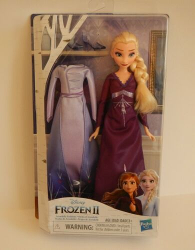 "Disney Frozen II Arendelle Fashions Doll Dress Nightgown /& Shoes 12/"" New in USA!"