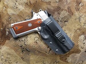 Gunners Custom Holsters Fits Ruger Sr1911 Iwb Concealment Holster