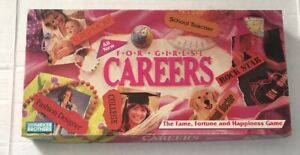 Careers-for-Girls-Game-Parker-Brothers-1990-read-description