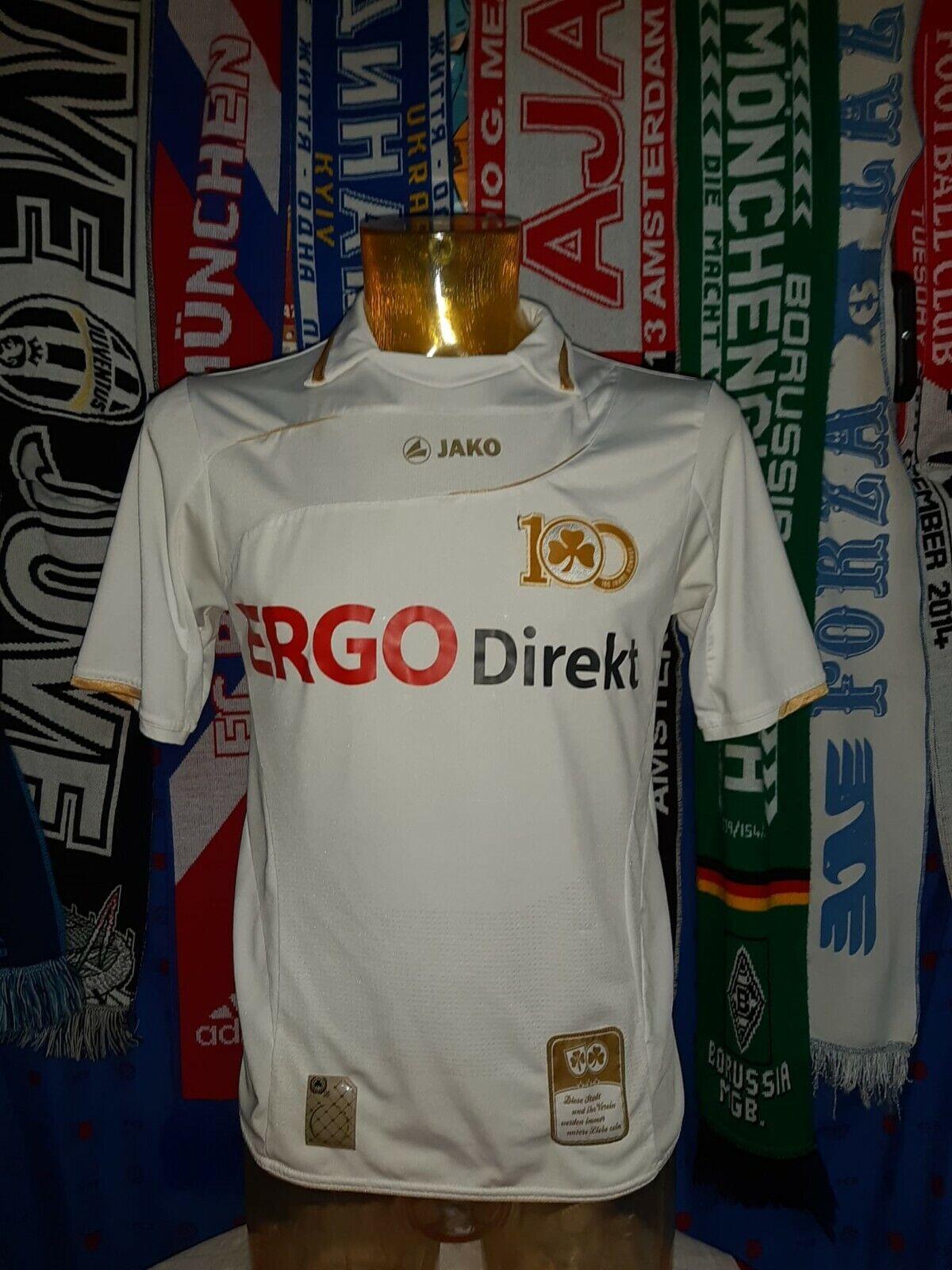Maglia Calcio Greuther Furth specialee Centenary 201011 Diuominiione S Jako Ergo Jersey