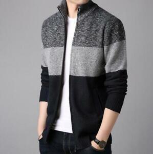 Parka-Padded-Men-039-s-Winter-Coat-Jacket-Outwear-Overcoat-Warm-Autumn-Thicken