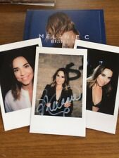 MELANIE C - VERSION OF ME - SIGNED - DELUXE EDITION - 2 CD - POSTCARD DIGIPAK -