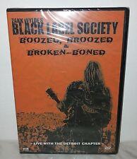 DVD BLACK LABEL SOCIETY - ZAKK WYLDE - BOOZED, BROOZED - SEALED SIGILLATO