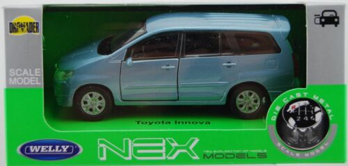 WELLY TOYOTA INNOVA 1:34 DIE CAST METAL MODEL NEW IN BOX
