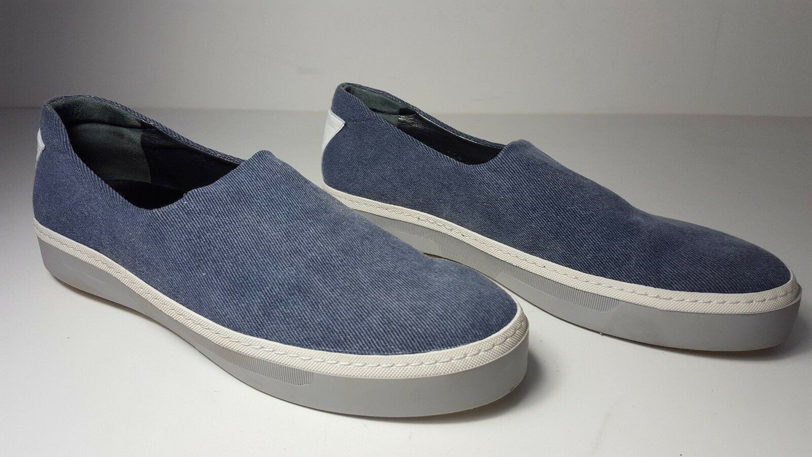 Stuart Weitzman Flair Azul Jeans Zapatos Tenis Tenis Tenis Slip Ons Stretch d76c6f