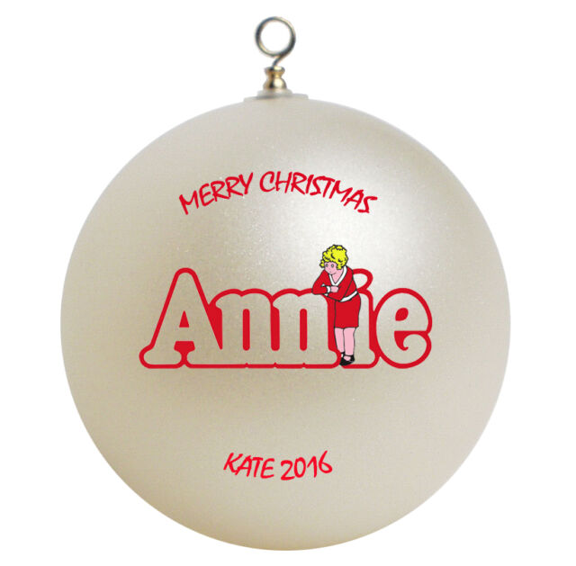Little Orphan Annie Personalized Christmas Ornament Gift - Little Orphan Annie Personalized Christmas Ornament Gift EBay
