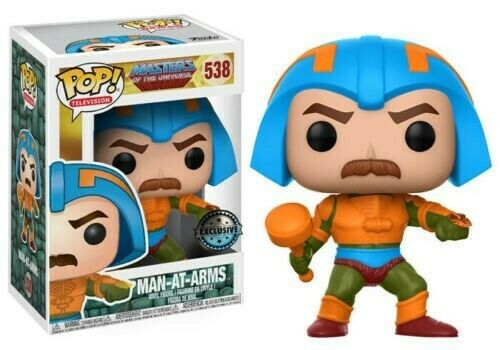 Funko POP Television Masters Of The Universe 538 Man-At-Arms Exclusive