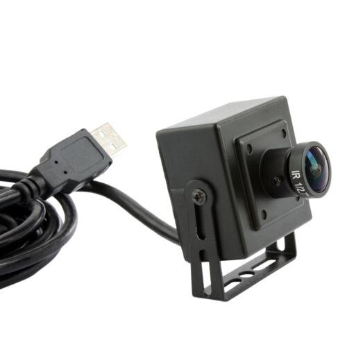 2MP 1080p USB Hidden Mini-box CCTV Camera Support IR with 170degree Fisheye Lens