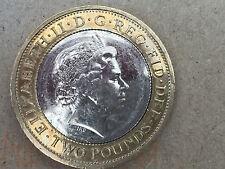 RARE FIRST WORLD WAR LORD KITCHENER £2 TWO POUND COIN Mint error