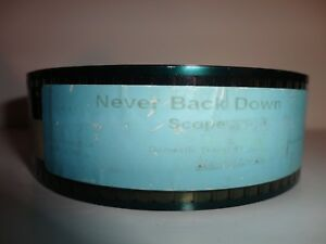 Details about Never Back Down (2008) 35mm Movie Trailer Film Collectible  SCOPE 2 min 30 sec