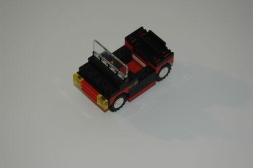 RC TRENO Ferrovia 4560 Accessori Veicolo ROSSO Lego 9V