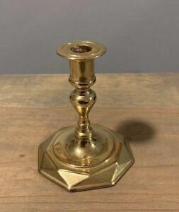 "American Heritage Brass Candlestick Baldwin Historic Deerfield Candle Size: 3.5"""