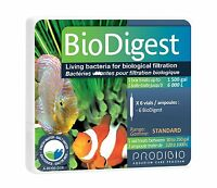 Pbd Bio Digest Standard Live Bacteria 6 Vial Fw/sw Free Ship To The Usa