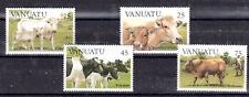 VACHE BOVIDÉS Vanuatu 4 val de 1984 ** COW KUH