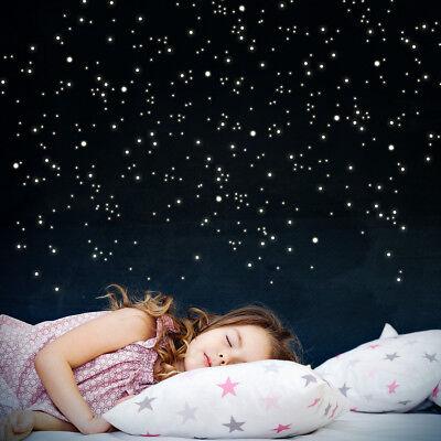 Wandkings Leuchtaufkleber f/ür Lichtschalter im Dunkeln leuchtend 8 Sterne