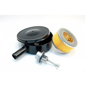 "High Filtration Efficiency! Compressor Air Intake Filter Metal 5"" SA13 3/4"" MPT"