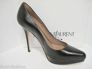 Nib Ysl Yves Saint Laurent Lauren 100 Classic Black