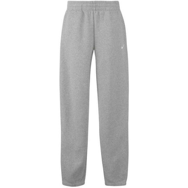 04380c47 Nike Club Cuff Swoosh Sweatpants Mens 611459-063 Grey Fleece Pants Size 2xl