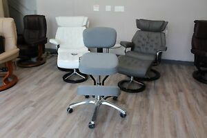 Image Is Loading Jobri Jazzy Kneeling Chair In Grey