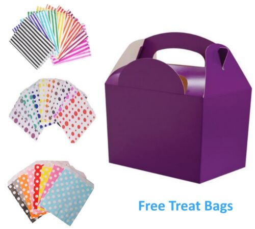 35 x Birthday Party Food Meal Lunch Boxes /& FREE Candy Sweet Cake Bags