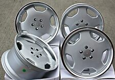 "18"" SLOT MONOBLOCK STYLE ALLOY WHEELS FIT MERCEDES SLK R170 R171 R172"