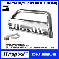 05-15 Toyota Tacoma S/s Bull Bar Brush Push Bumper Grille Grill Guard