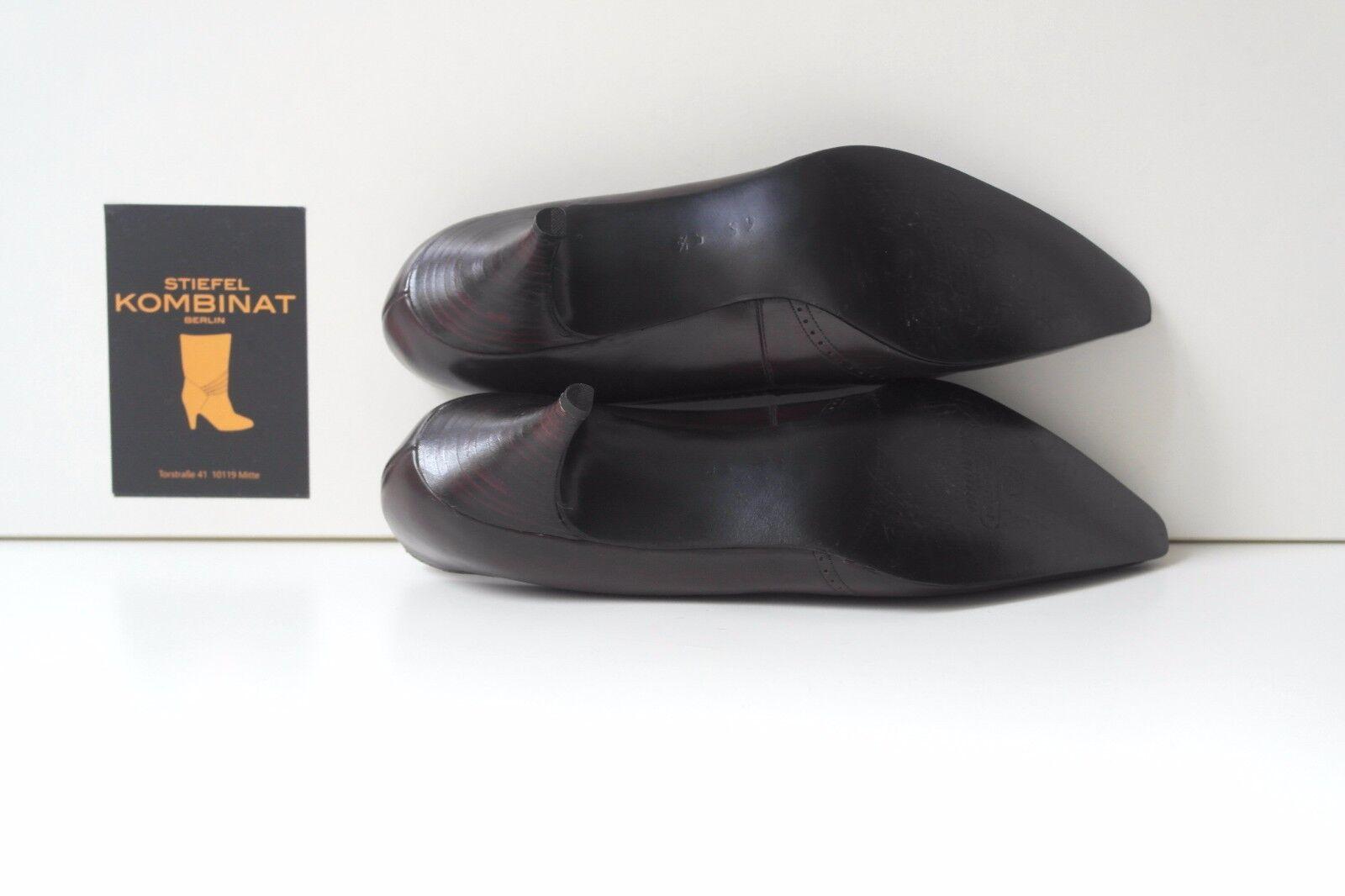 Halbschuhe VINTAGE TRUE Schuhe Keilabsatz Pumps Damen Antik