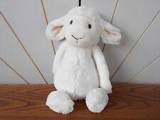 MEDIUM BASHFUL LAMB beanie soft toy plush JELLY CAT Jellycat Jelly1666 SHEEP