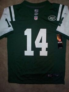 9b29e4ab Details about *IRREGULAR* New York Jets SAM DARNOLD nfl NIKE Jersey Youth  Kids Boys (L-LARGE)