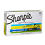 thumbnail 1 - Sharpie 1754467 Accent Sharpie Pen-Style Highlighter, Fluorescent Blue, 12-Pack