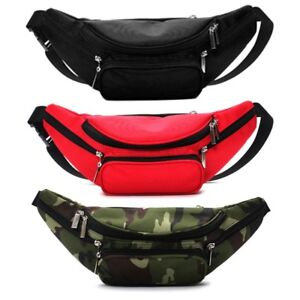 bc6acc1ab9e7 Details about Running Belt Bum Waist Pouch Hip Fanny Travel Pack Sports  Jogging Cycling Bag