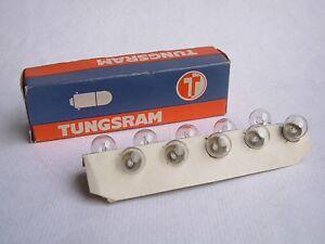 10-LAMPADINE-MICRO-MIGNON-6-3-VOLT-0-3-A-TUNGSRAM-NOS-RADIO-MINIATURE-LAMP