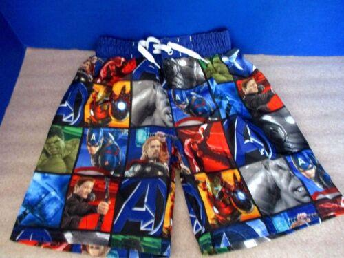 ~ Avengers Comics mesh Marvel nwt ~ Swim ~ 50 Trunks ~ ~ Liner the upf boys Xs qgdwtwSxz