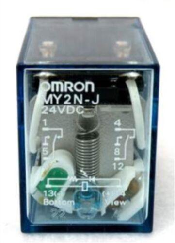 Power Relay 1Pc Omron Coil MY2N-J MY2NJ 24Vdc be