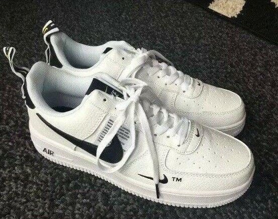 Air Shoes Blackwhitered Lv8 Utility Uk Size Force 10 Running 6 New Nike 1 07 Z8kXN0wOPn