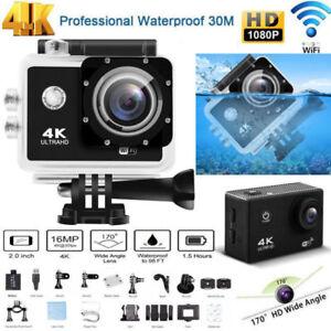 4K Sport Camera Ultra HD 1080P Sports WiFi Cam Action Camera DV Video Recorder
