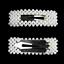 Fashion-Women-Pearl-Hair-Clip-Snap-Barrette-Stick-Hairpin-Bobby-Hair-Accessories thumbnail 17
