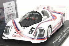 FLY 060101 PORSCHE KREMER CK5 LEMANS 1982 NEW 1/32 SLOT CAR IN DISPLAY CASE