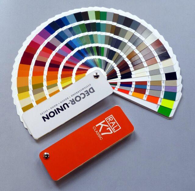 RAL Farbfächer Farbkarte Farbtonkarte DB Eisenglimmer Perleffekt glänzend