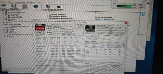 I//O Heatsink Gigabyte GA-M85M-US2H AMD Athlon x2 250 ADX2500CK23GQ 3.0GHZ